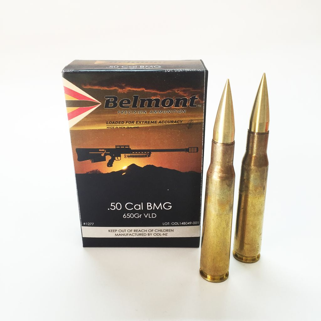 50 Cal BMG 650gr VLD (Woodleigh Projectile) - 10 rounds