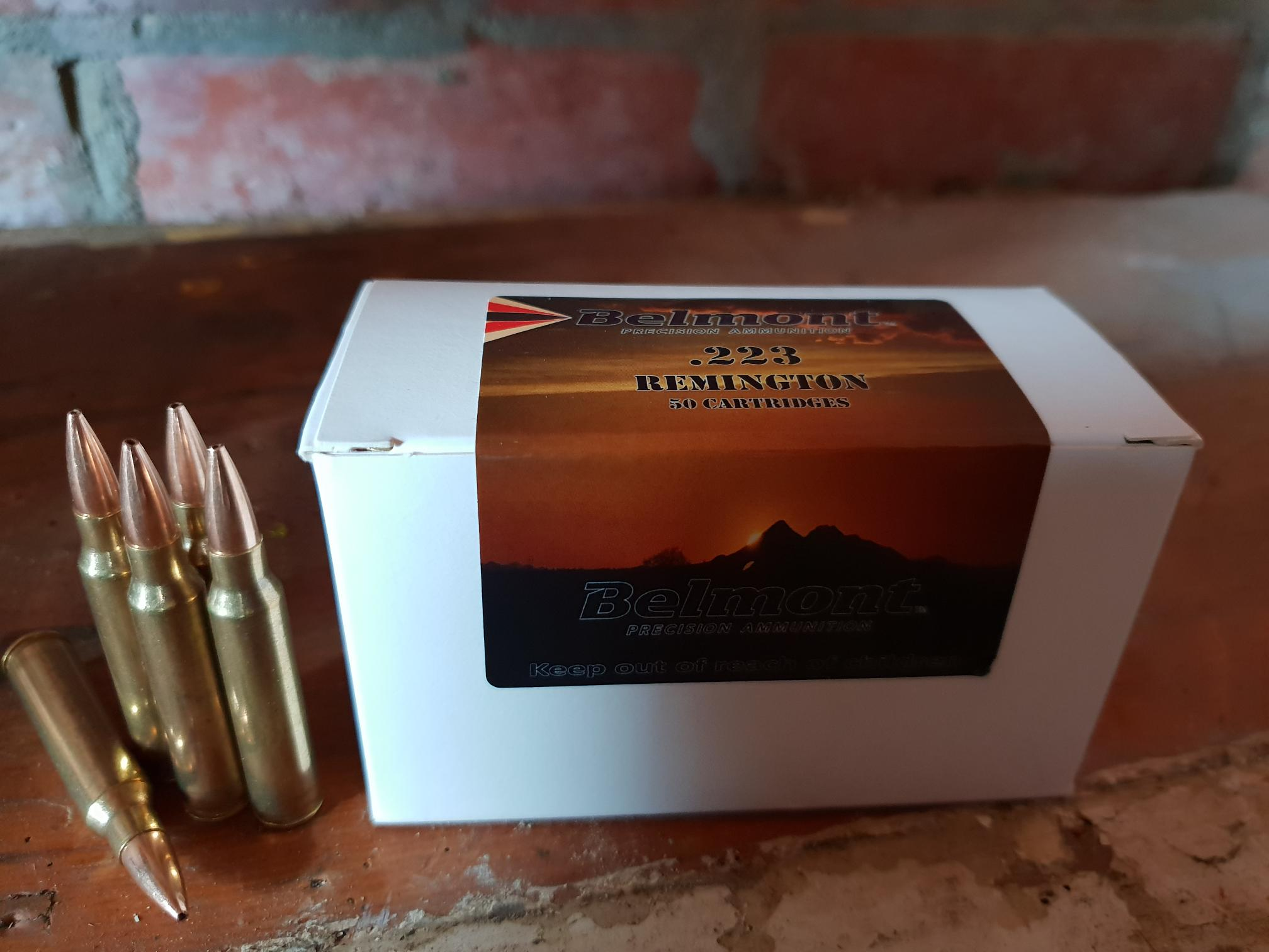 223 77GR Sierra Match King HPBT (50 Rounds) – Belmont Ammunition