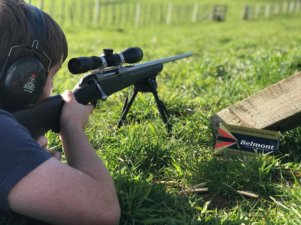 NZ HUNTING AND SHOOTING REVIEW OUR BELMONT .308 150GR SP